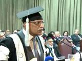 Speech at PU Convocation, 2011