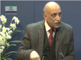Prof. Dr. Syed Mujahid Kamran in Khilafat Forum